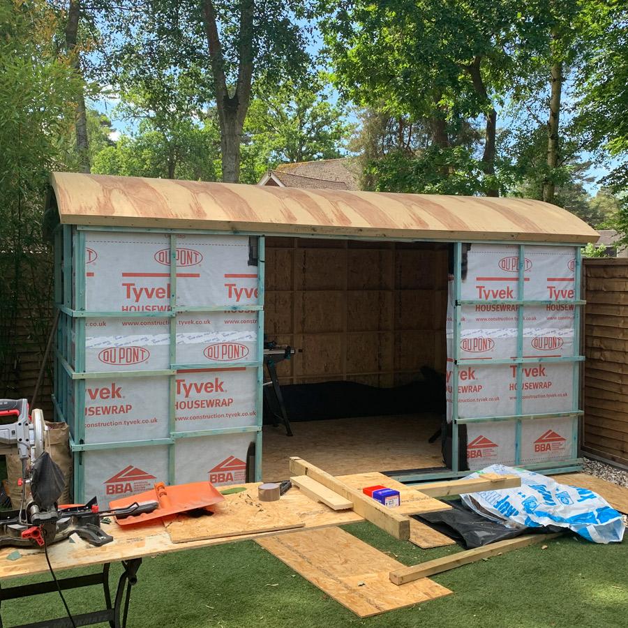 Garden Office - External membrane
