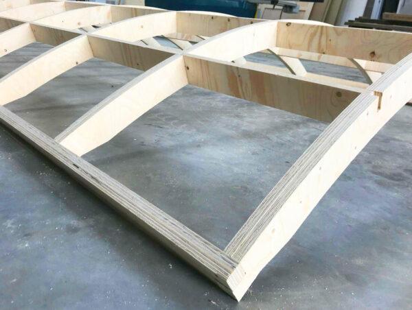 Shepherd Hut Roof Frame Kit