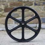 24 inch cast iron wheels