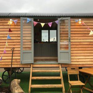 Sepherd Hut Double Doors