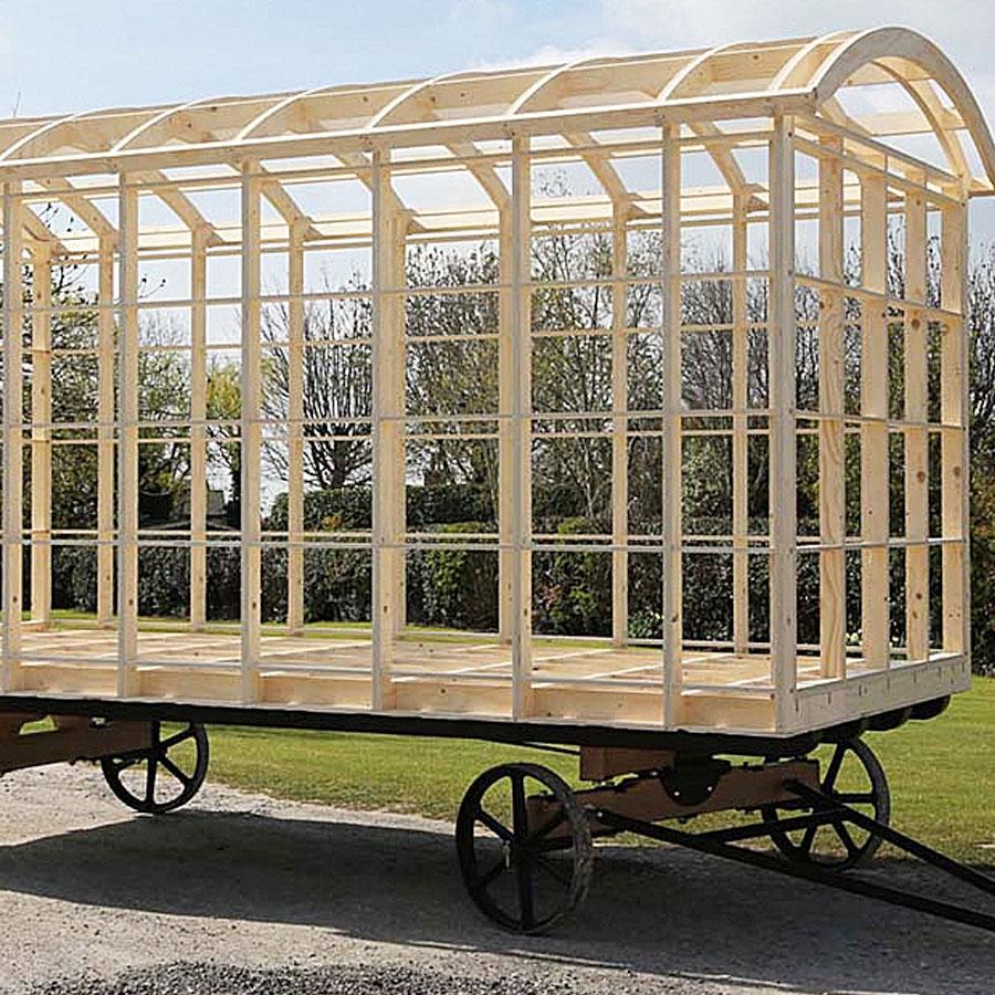 Shepherd Hut Frame