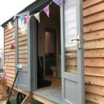 Shepherd Hut French Door