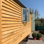 Large Double Window Casement - Shepherd Hut Windows