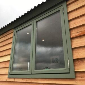 Shepherd Hut - Double Glazed, Double Window Casement