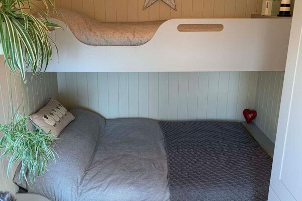 Shepherd Hut Bunk Beds