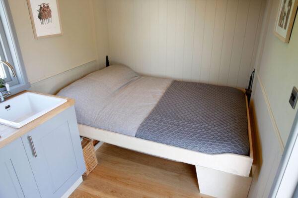 Shepherd Hut Fold Down Bed