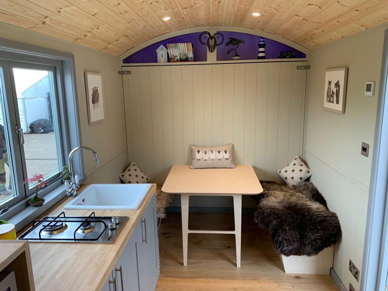 Shepherd Hut Sizes and Floor Plans