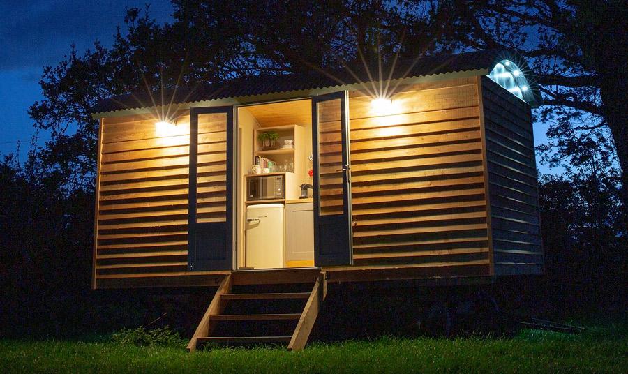 Harrogate Huts - Completed Shepherd Hut