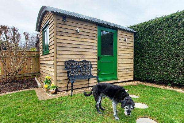 Garden Office Hut