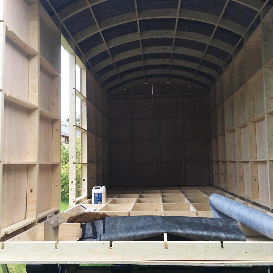 Shepherd Hut Frame Kit