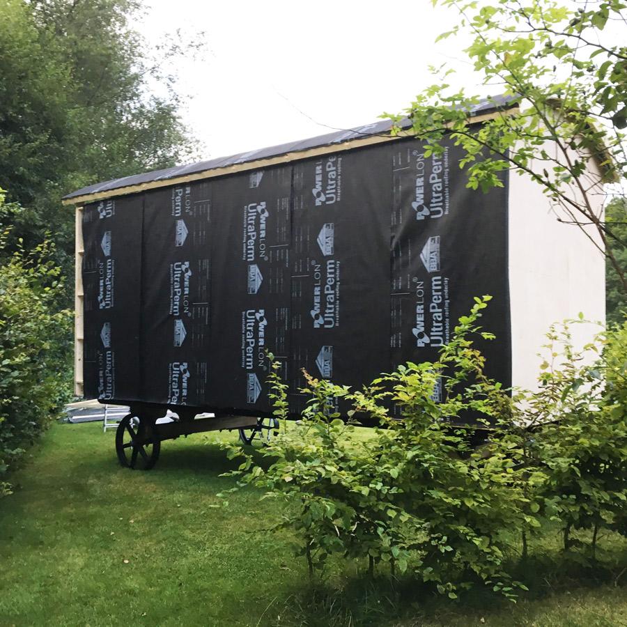 Shepherd Hut Wall Membrane