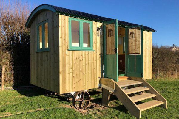 Glamping Hut Cornwall