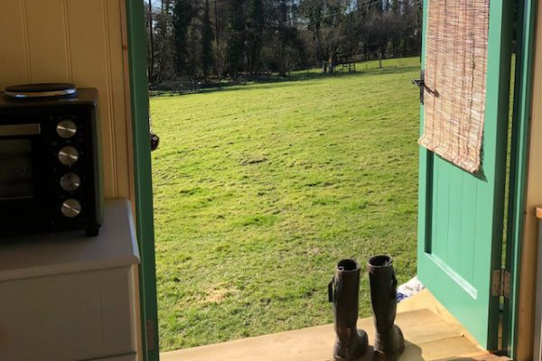 Shepherd Hut Door