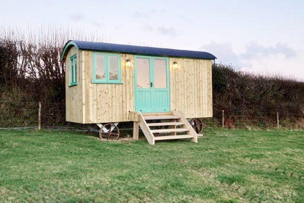 Glamping Shepherds Hut