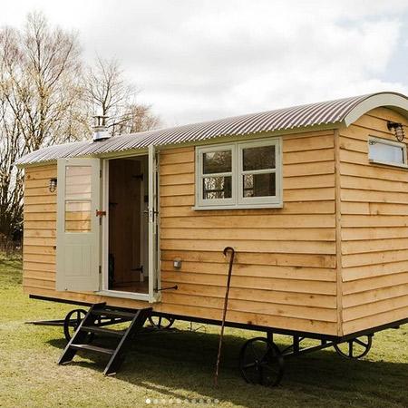 Finished Shepherd Hut