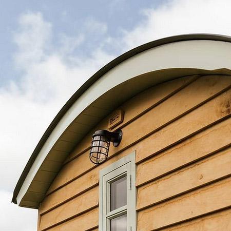 Shepherds Hut Roof fascia
