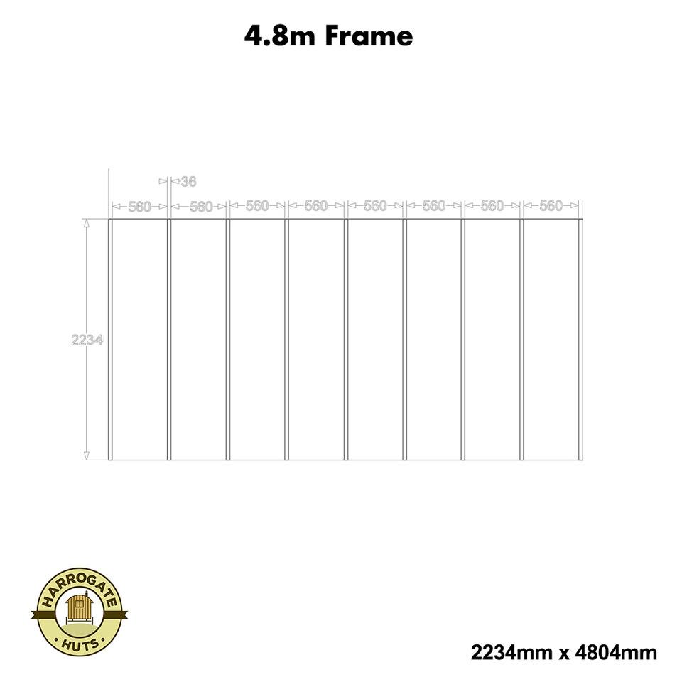 4.8m Frame Kit