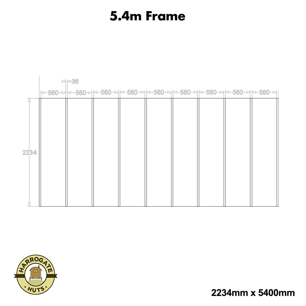 5.4m Frame Kit
