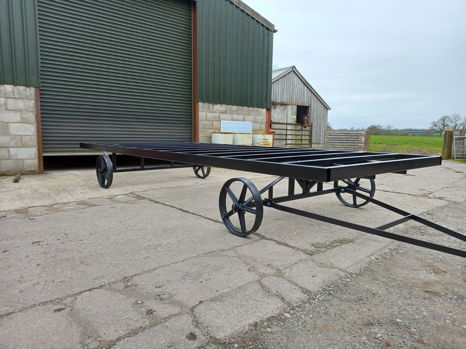 Steel Shepherds Hut Chassis: Manufacturers