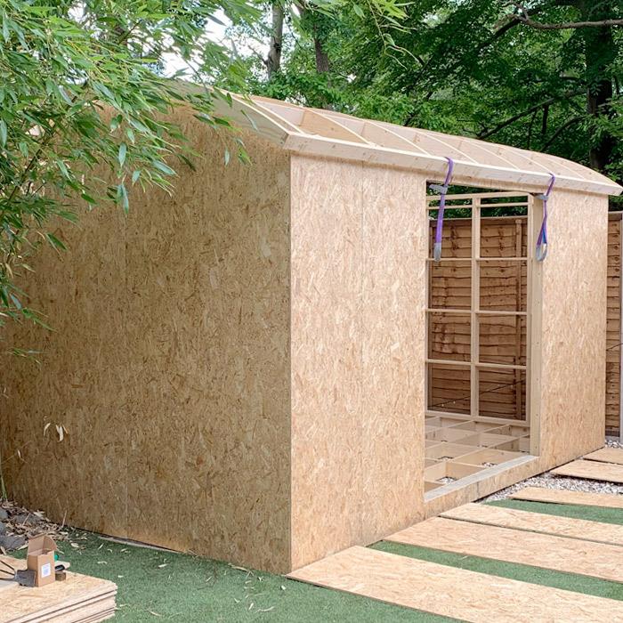 OSB / Sterling Board - Shepherds Hut Building