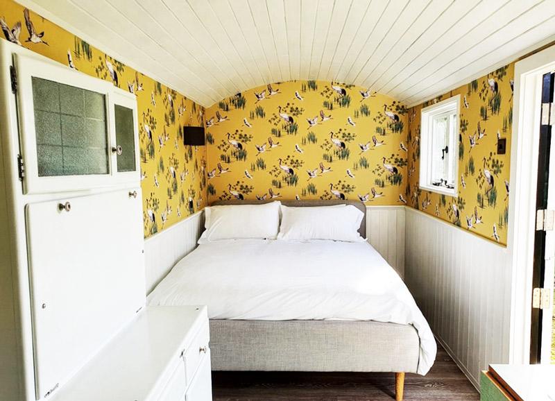 Shephers Hut Bedroom